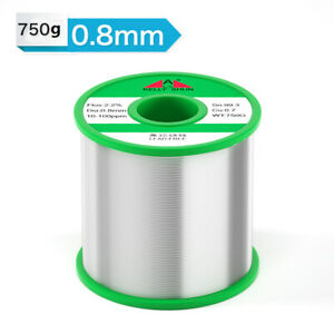 0 8mm 750g Tin Rosin Core Solder Wire For Electrical Solderding No Lead 100ppm