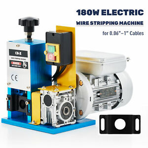 1 4hp Automatic Scrap Cable Stripper Electric Wire Stripping Machine Copper