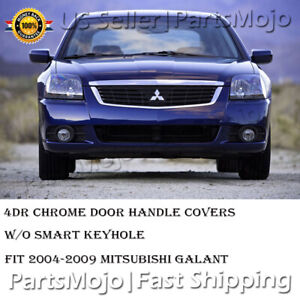 Chrome Door Handle Covers For Mitsubishi Galant 2004 2005 2006 2007 2008 2009
