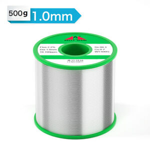 1 0mm 500g Eco friendly Tin Rosin Core Solder Wire Soldering No Lead 100ppm