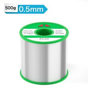 0 5mm 500g Tin Rosin Core Solder Wire For Electrical Solderding No Lead 100ppm