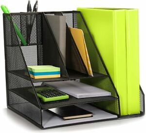 Hudstill Large Desk Organizer Perfect For The Home Office
