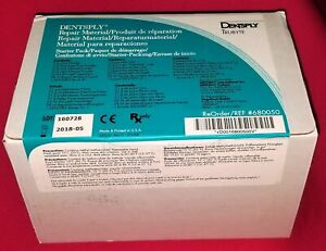 Dentsply Trubyte 680050 Repair Material Starter Kit For Resin Base Dentures
