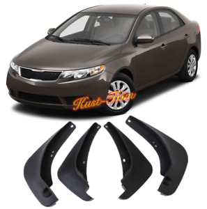 For Kia Forte Cerato Sedan 2009 2011 Splash Guards Mud Flaps Mud Guards Fender