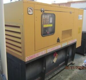 Caterpillar Olympian 60kw could Use For 50kw Single Ph Quiet Generator