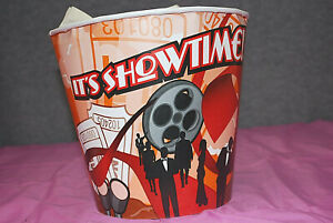 Popcorn Buckets Movie Theatre It s Showtime 170oz Lot Of 25 M3821