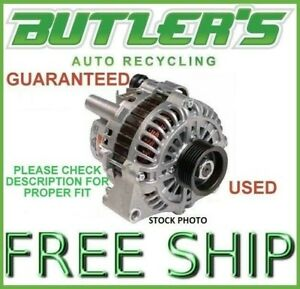 189k Mile Corvette Alternator Base 94 95 Oem Generator Factory