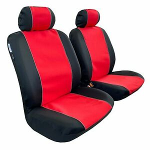 For Toyota Tacoma 1999 2020 Front Waterproof Red Neoprene Car Seat Covers