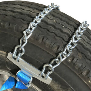 Snow Chains V bar Emergency Strap On Tire Chains For Suv s And Pick up Trucks
