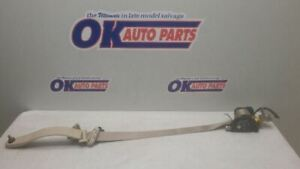 01 2001 Lincoln Town Car Driver Left Front Seat Belt Retractor Tan