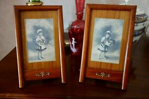 Pair Of Victorian Or Edwardian Photo Frames