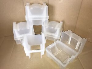 4 Empak Entegris 150mm Wafer Cassette X9150 And Ph9150 Wafershield Carriers