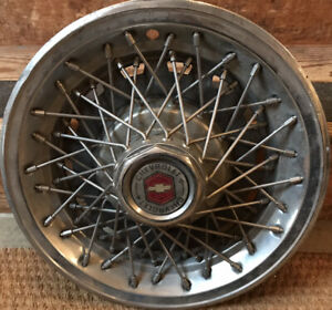 Vintage Chevrolet Wire Spoke Hubcaps 4