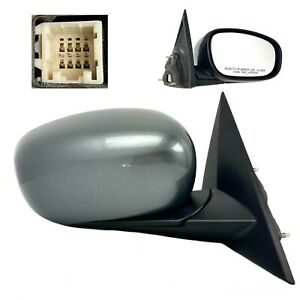 Genuine Chrysler 300 Dodge Charger Passenger Side Mirror Xb801a4ak Silver Cover
