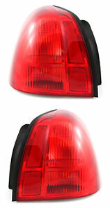 For 2003 2011 Lincoln Town Car Tail Lights Pair Set