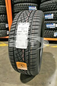 4 New Continental Dws06 106w 50k Mile Tires 2654022 265 40 22 26540r22