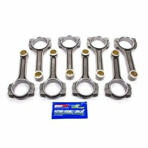 Scat 2 icr6125 7 16 6 125 Connecting Rods W arp 8740 For Chevy Small Block New