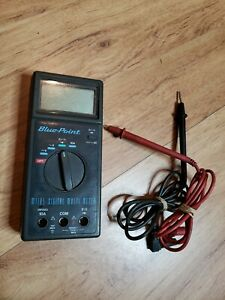 Blue Point Multimeter Mt185 Digital For Parts Repair