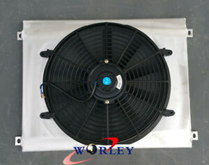 For 1963 1969 Ford Fairlane 1967 1970 Mustang Mercury Aluminum Shroud Fan