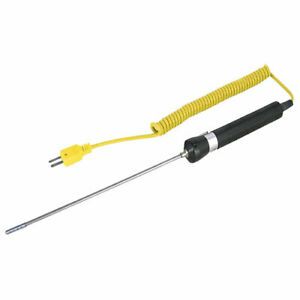 Reed Instruments R2940 Air And Gas Type K Thermocouple Sensor Probe