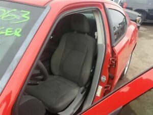 Driver Front Seat Bucket With Cloth Manual Fits 09 10 Charger 364051