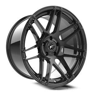 Forgestar F251 F14 Dc 19x10 5x114 3 42et Gloss Blk Wheel