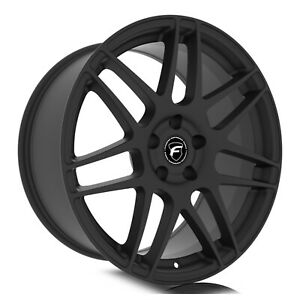 Forgestar F372 F14 Drag 15x10 5x114 3 22et Satin Blk Wheel