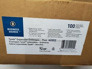 Tyvek Open End Expansion Mailer 12 X 16 X 2 Inch White 100 pack 42202