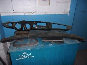1967 Mgb Dash Cowl Panel Defroster Vents And Steering Column
