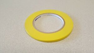 Skmax 1 4 X 60yds Yellow Fine Line Masking Tapes