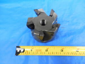 2 Diameter Face Mill 3 4 Pilot X 5 16 Keys Coolant Thru Machine Shop Tooling