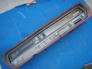 1965 Oldsmobile F85 Cutlass 442 Floor Shift Dash Assembly Complete Fits 1964