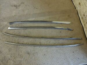 1968 1969 1970 Buick Riviera And Riviera Gs Windshield Trim Moldings