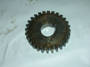 Atlas Craftsman 10 12 Inch Lathe Quick Change Gearbox 28 Tooth Gear 10 1521 Used