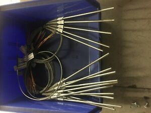 Thermocouple Probes Type K 32 To 900 f 6 Length X 3 16 Qty 16 Pieces
