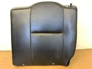 05 06 Rsx Left Rear Seat Upper Cushion Cover Trim Pad Frame Black Leather Oem