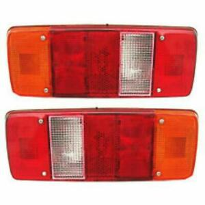 New Best Jcb Fastrac Tail Rear Light Lamp With 12v Bulbs Replacement