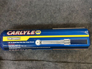 Carlyle 3 8 Dr Round Head Click Style Torque Wrench