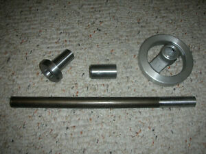 South Bend Logan Lathe 3c Collet Adapter And Handwheel Drawtube Set New Usa Made