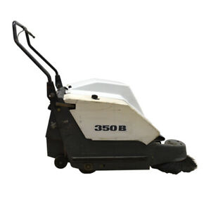 Advanced 411001 350b Industrial 30 12vdc Push Floor Scrubber W Apa Charger