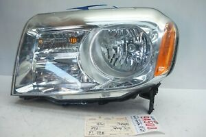 2012 2015 Honda Pilot Left Driver Halogen Headlight Oem Ue94500 2013 2014