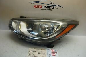 2012 2013 2014 Hyundai Accent Left Driver Halogen Headlight Oem Ue94504