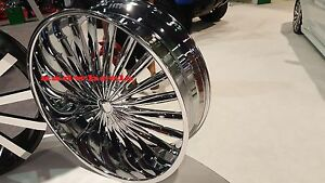 18 Inch Velocity Vw11 Chrome Wheels Rims Tires Fit 5 X 114 3 Visit Store Deals