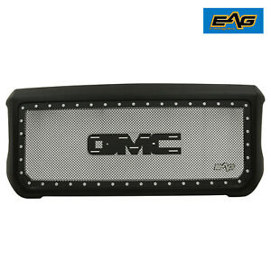 Eag Mesh Rivet Grill Stainless Steel With Shell Fit 15 18 Gmc Sierra 2500 3500