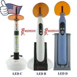 Us Original Woodpecker Dental Curing Lights Cordless Resin Cure Lamp Led B C D