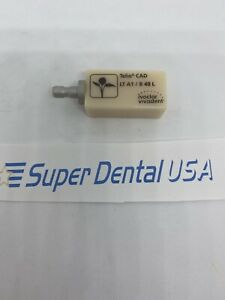 Cerec Telio Cad Temporary Lt A1 B 40 L Bridge Block Dental Ivoclar Vivadent
