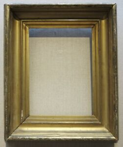 19th Century Antique Gold Gilt Picture Frame Fits 9 X 12 Inches