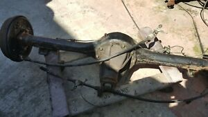 1986 87 Mazda B2000 Rear End Differential Only 1 Drum