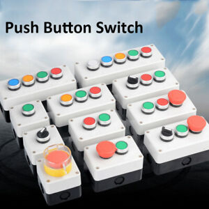 Push Button Control Station Up down Tail Lift Stop Start Keyswitch Roller Door