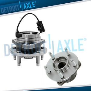 2 Front Wheel Hub Bearing Pontiac G6 Aura Chevy Malibu Wheel Bearings Hub Abs